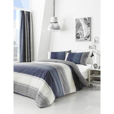 Fusion Betley Blue Duvet Cover Set - Single