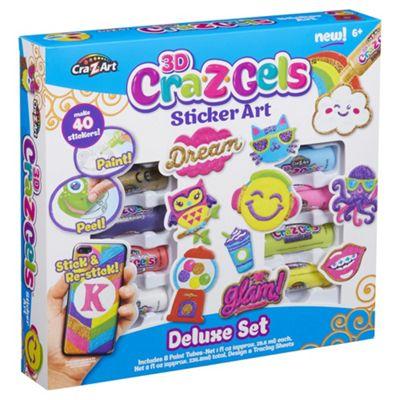 Cra Z Gels Deluxe sticker set