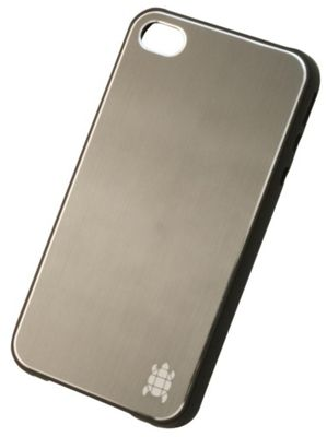 Tortoise™ Hard Case iPhone 4/4S Brushed Metal Graphite