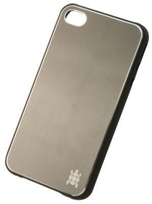 Tortoise™ Hard Case iPhone 4/4S Brushed Metal Graphite