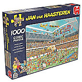Jan Van Haasteren 1000pce Puzzle Football Crazy