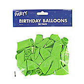 Pack of 20 Monster Green Happy Birthday Balloons Party Decorations/ Supplies