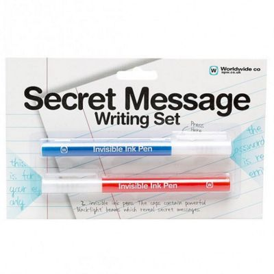 Secret Message 2 piece Writing Set