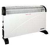 2kw Convector Heater3 Heat Settings Adjustable Thermostat