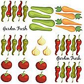 Kitchen Wall Stickers - Garden Fresh