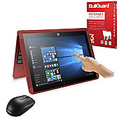 """HP x2 10-p010na 10.1"""" 2 in 1 Laptop Tablet Intel Atom x5-Z8350 4GB 500GB Detachable keyboard Win 10 with Internet Security & Mouse - 1AP69EA#ABU"""