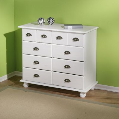 Aspect Design Michaela Chest of Drawers in White