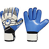 Uhlsport Eliminator Soft Rf Competition Junior Goalkeeper Gloves - White