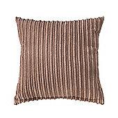"""Mocha Jumbo Cord Cushion 18"""""""