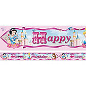 Disney Princess Sparkle Banner - 4.65m Foil