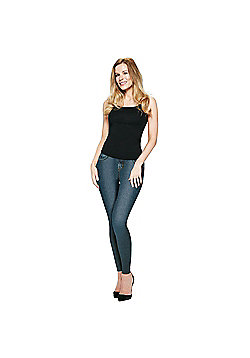 JML Trim 'N' Slim Jeans: Slimming Shapewear Jeggings - Indigo