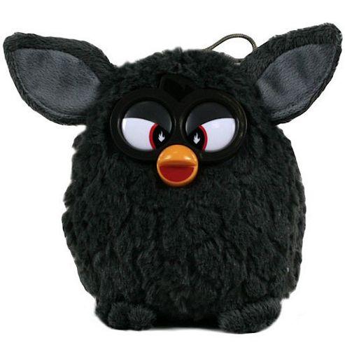 Furby 14cm Soft Toy - Black