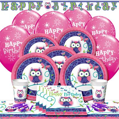 Owl Pal Deluxe Party Pack for 8