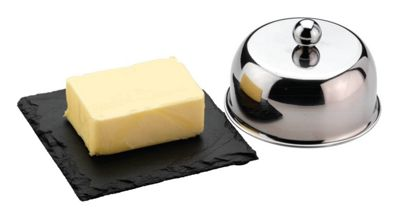 Grunwerg Stainless Steel Commichef Butter Cloiche Set SLT-BC