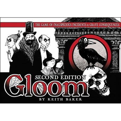 Gloom 2nd Edition Card Game
