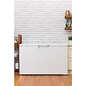 Hotpoint Chest Freezer CS1A 400 FM H (UK) - White