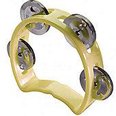 Stagg Yellow Plastic Mini Tambourine