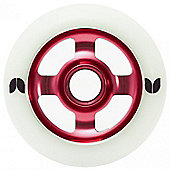 Blazer 4 Spoke Stormer Wheel - 100mm - Red
