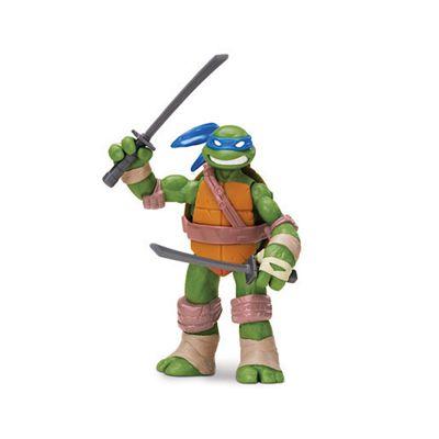 Teenage Mutant Ninja Turtles Leonardo Leader and King of The Katana Swords Figure