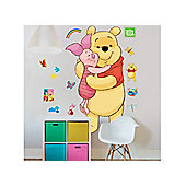 Walltastic Disney Winnie The Pooh 4ft Large Character Sticker