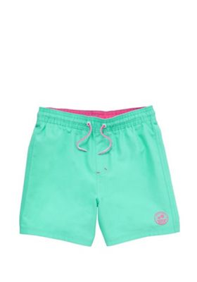 F&F Badge Board Shorts Turquoise 4-5 years
