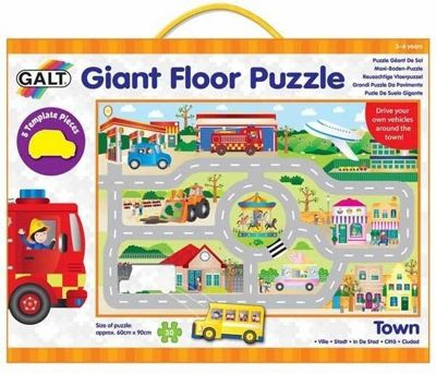Town - Giant Floor Puzzle - 30pc