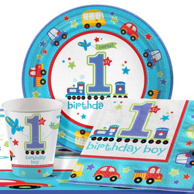 All Aboard Party Pack for 8