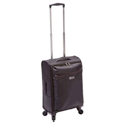 Revelation by Antler Alight 4-Wheel Suitcase, Black Small