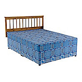 Comfy Living 4ft Small Double Eco Quilted Divan Set