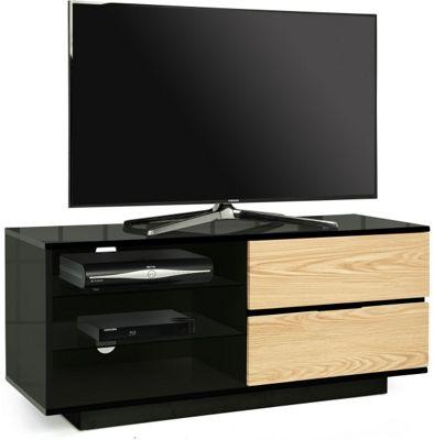 MDA Gallus Black and Oak TV Cabinet