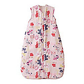 Grobag Alphapinks 1 Tog Sleeping Bag - 0-6 Months