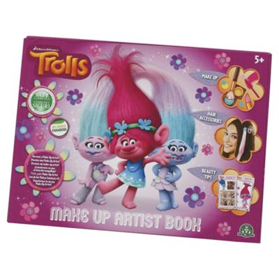 Trolls Makeup Artist Book