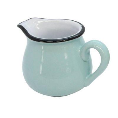 Blue Vintage Style Milk Jug
