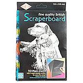 Scraperboard Black 229mmx152mm
