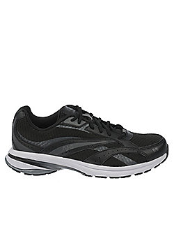 Women's Ryka Radiant Plus Walking Trainers Black-Grey - Grey & Black