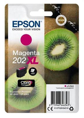 Epson 202XL 8.5ml 650pages Magenta ink cartridge 650 pages
