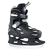 SFR Ice Skates - Eclipse Black/White - Black