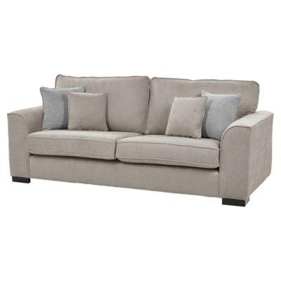Vitorio Large 3 Seater Sofa, Taupe