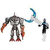 Max Steel and Metal Elementor Figures
