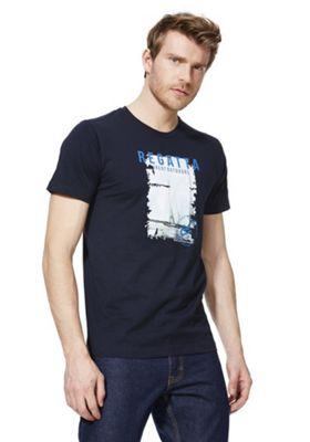 Regatta Cline II Graphic T-Shirt Navy S