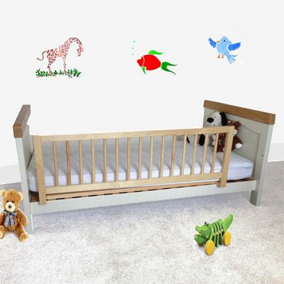 Safetots Wooden Bed Rail Natural