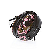 BANZ Children's Earmuffs Ages 2-10 CAMO PINK