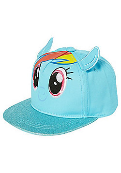 Hasbro My Little Pony Rainbow Dash Flat Peak Cap - Blue
