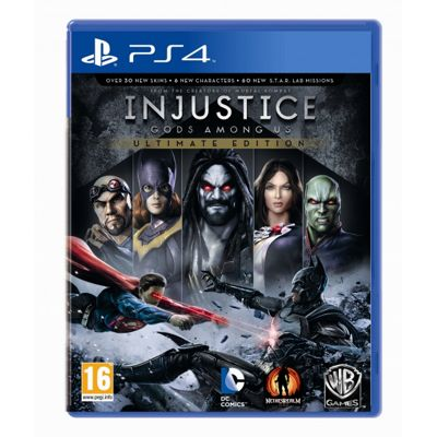 Injustice Gods Among Us Ultimate Edition Game Of The Year (GOTY) Game PS4