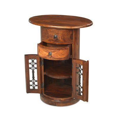 Maharajah Indian Rosewood 2 Drawer Hall Table