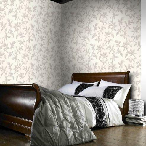 Graham & Brown Sarra Premier Wallpaper - Silver