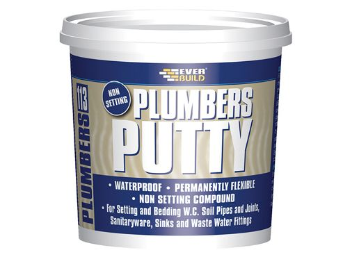 Everbuild Plumbers Putty 750g