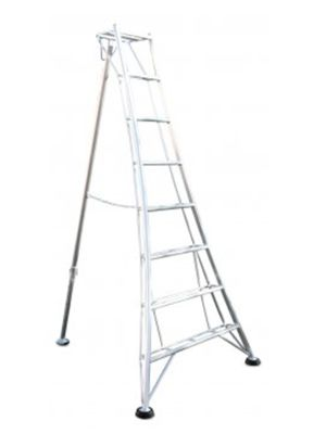 Ladders-Online Heavy Duty 3.6m (11.8ft) Standard - Garden Hedge Cutting Tripod Ladder