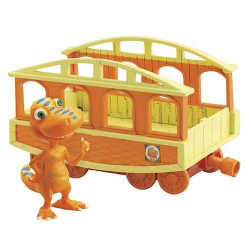 Tomy Dinosaur Train and Buddy with Train Car
