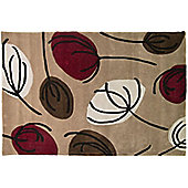 Fifties Floral Floor Rug - 120 x 170 cm